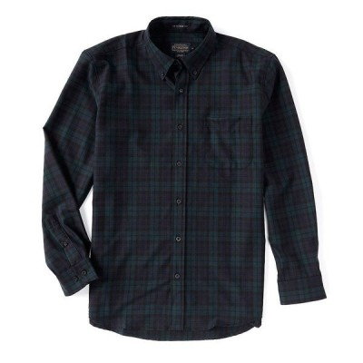 ペンドルトン メンズ シャツ トップス Sir Pendleton Long-Sleeve Woven Shirt Black Watch Tartan