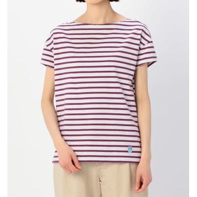 【ビショップ/Bshop】 【ORCIVAL】ルーズボートネックTシャツ ST WOMEN
