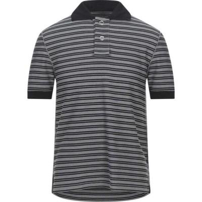 メゾン マルジェラ MAISON MARGIELA メンズ ポロシャツ トップス Polo Shirt Black