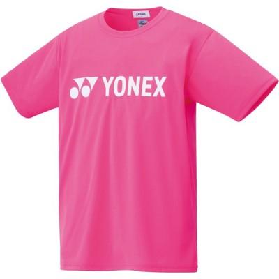 ヨネックス ユニセックス ドライTシャツ(ネオンピンク・サイズ:S) YONEX YO-16501-705-S 返品種別A