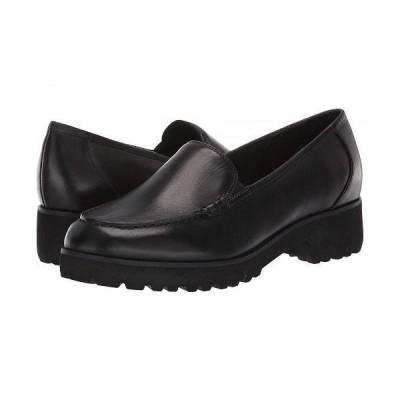 Easy Spirit イージースピリット レディース 女性用 シューズ 靴 ローファー ボートシューズ Evolve Wreath - Black Leather
