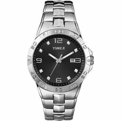 腕時計 タイメックス メンズ Timex Men's T2P2619J Crystal-Accented Stainless Steel Watch