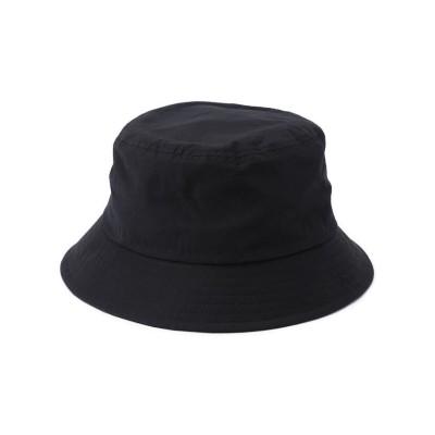 【RAWLIFE】 LACOSTE/ラコステ/cotton nylon safari hat/コットンナイロンサファリハット メンズ ブラック 58 RAWLIFE