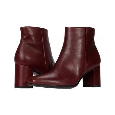 ECCO エコー レディース 女性用 シューズ 靴 ブーツ アンクル ショートブーツ Shape 60 Squared Ankle Bootie - Syrah