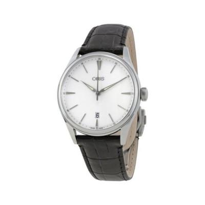腕時計 オリス Oris Artelier Date シルバー ダイヤル メンズ 腕時計 01 733 7721 4051-07 5 21 64FC