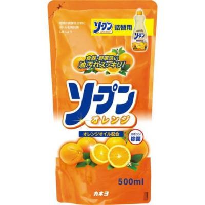 カネヨ石鹸 ソープンオレンジつめかえ 500ml ソープンフレッシュオレンジツメカエ