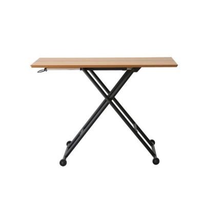 リフティングテーブル 木製テーブル 高さ調節 木製家具 テーブル 机 つくえ ウォルナット 北欧 おしゃれ RLT-4516-4510 送料無料
