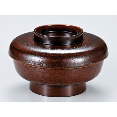 / 越前漆器 光悦木目椀 栃塗 /和食器
