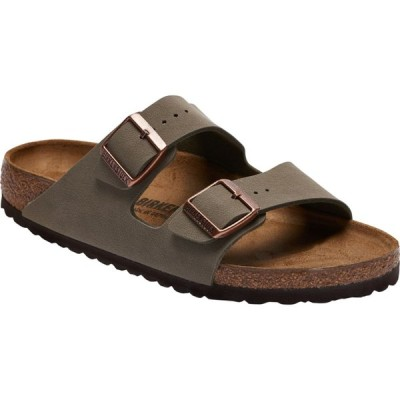 ビルケンシュトック Birkenstock レディース サンダル・ミュール シューズ・靴 arizona cork sandals Stone