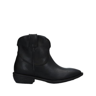 NILA & NILA ショートブーツ ブラック 36 牛革(カーフ) ショートブーツ