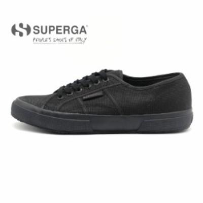 SUPERGA スニーカー 2750 COTU CLASSIC S000010 TOTAL BLACK  / スペルガ コットン クラシック 黒
