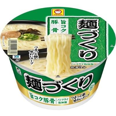 東洋水産 マルちゃん 麺づくり 旨コク豚骨 110g×12個 一部地域送料無料