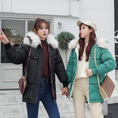 2020冬季新品ダウンコートダウンジャケット韓流ゆったりファッションchicアウター防寒中綿コート