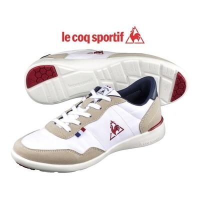 ルコック le coq sportif セギュール3 SEGUR III レディース フェミニン スニーカー 靴 ホワイト/ネイビー/レッド QL3NJC05WN-304 SS19