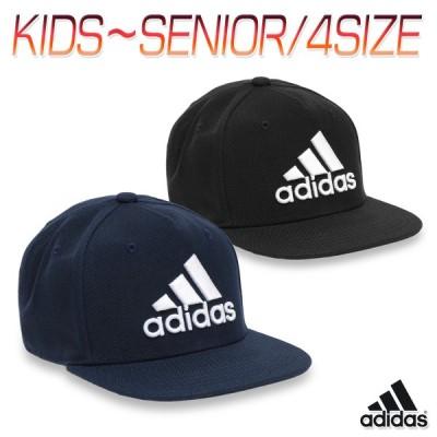 アディダス キャップ フラット ブリム 帽子 大人 キッズ 子供 小学生 ジュニア 親子お揃い メンズ レディース 男女兼用/SNAPBACK LOGO CAP GNS19