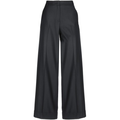 QL2  QUELLEDUE パンツ ブラック 44 バージンウール 95% / ポリウレタン® 5% パンツ