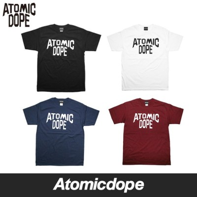 Atomicdope ATOMIC DOPE CITY Tee Black White NavyBlue Burgundy Tシャツ ブラック ホワイト ネイビーブルー バーガンディー アトミックドープ