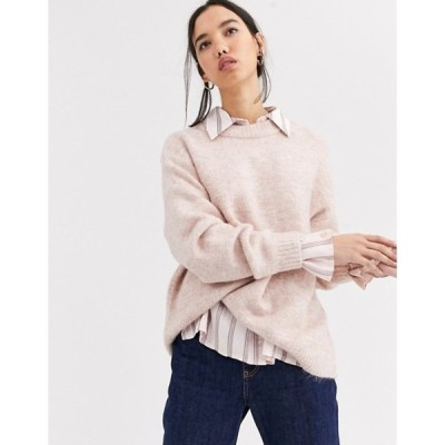オンリー レディース ニット・セーター アウター Only Zoe long sleeve sweater