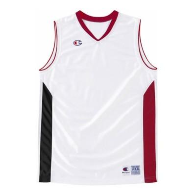 [チャンピオン] ガールズ ゲームシャツ CBYR2032 ホワイトR 150