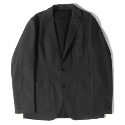 SOPHNET ソフネット ジャケット 17AW リバーシブル 2B テーラードジャケット REVERSIBLE 2 BUTTON JACKET チャコール ブラック L 【メン