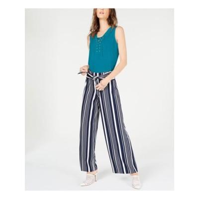 レディース 衣類 トップス INC Womens Blue Sleeveless V Neck Top Size: M ブラウス&シャツ