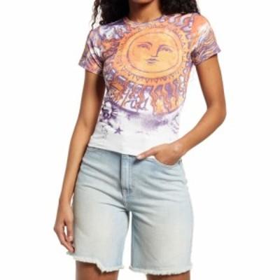アーバンアウトフィッターズ BDG URBAN OUTFITTERS レディース Tシャツ トップス Sun Baby Graphic Tee White