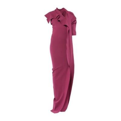 RICK OWENS チューブドレス  レディースファッション  ドレス、ブライダル  パーティドレス ガーネット