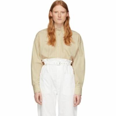 イザベル マラン Isabel Marant レディース ブラウス・シャツ トップス off-white silk macao shirt Ecru