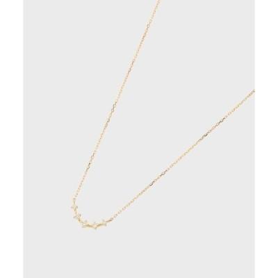 COCOSHNIK / ココシュニック K18ダイヤモンド アーチ グラデネックレス小