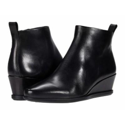エコー レディース ブーツ・レインブーツ シューズ Shape 45 Wedge Ankle Boot Black Cow Leath