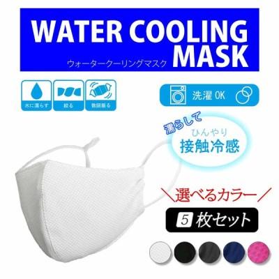 5枚セット 水に濡らして振るだけ 保湿 乾燥対策 立体マスク 選べる 洗えるマスク 濡れマスク 繰り返し使える 布マスク 3Dフィット