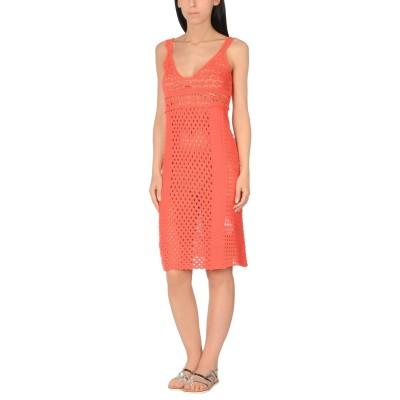 ツインセット シモーナ バルビエリ TWINSET ビーチドレス コーラル XL コットン 100% ビーチドレス