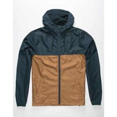 INDEPENDENT TRADING COMPANY メンズ ジャケット INDEPENDENT TRADING COMPANY Lightweight Saddle Mens Windbreaker Jacket