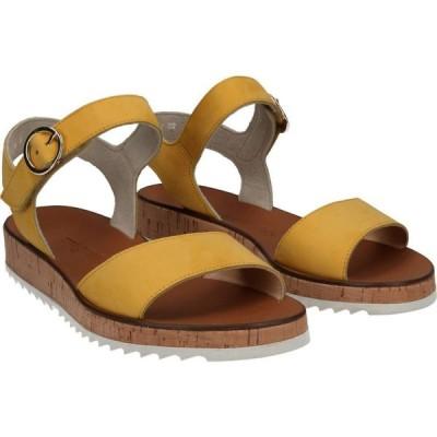 ポールグリーン Paul Green レディース サンダル・ミュール シューズ・靴 Audrey Sandal Sunflower Nubuck