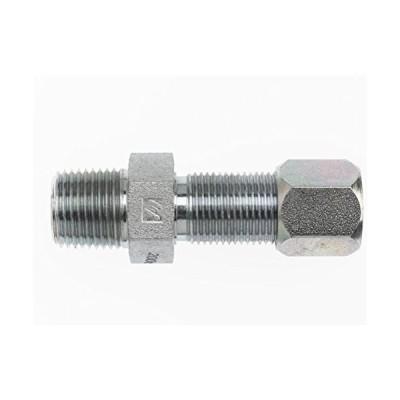 Brennan Industries C2706-08-08 Steel Bulkhead Straight Flareless Bite Type