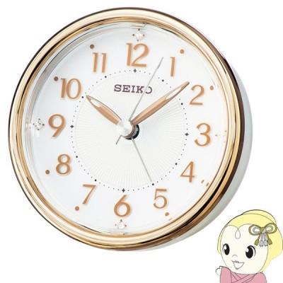 セイコー 目覚まし時計 アナログ ELバックライト 銅色 KR897B SEIKO