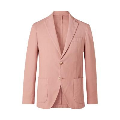アルテア ALTEA テーラードジャケット ピンク 50 コットン 96% / シルク 3% / ポリウレタン 1% テーラードジャケット