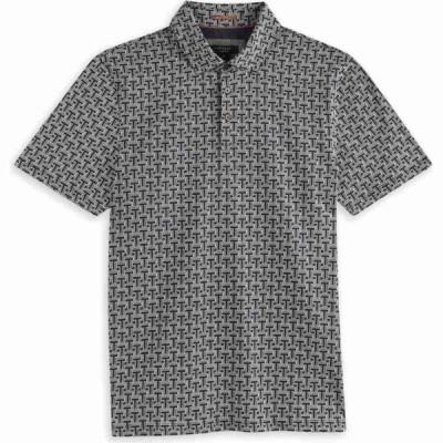テッドベーカー Ted Baker メンズ ポロシャツ トップス Print Polo Shirt NAVY