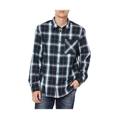 エーグル シャツ 公式 コルピン 長袖シャツ メンズ ZCHK305 ブラック 日本サイズXL相当
