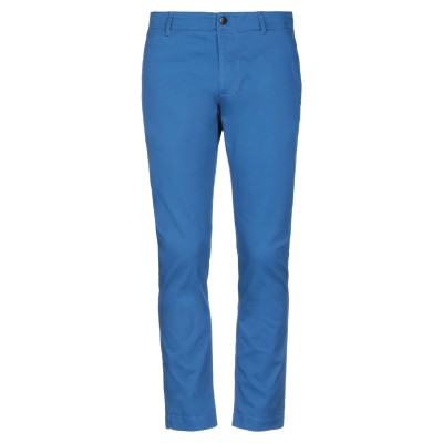 TOMMY JEANS パンツ ブライトブルー 32W-32L コットン 98% / ポリウレタン 2% パンツ
