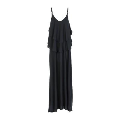 MARC ELLIS ロングワンピース&ドレス ブラック XS ポリエステル 100% ロングワンピース&ドレス