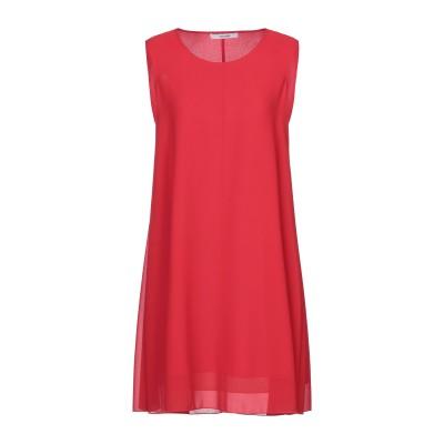 LANACAPRINA ミニワンピース&ドレス レッド 42 ポリエステル 100% ミニワンピース&ドレス