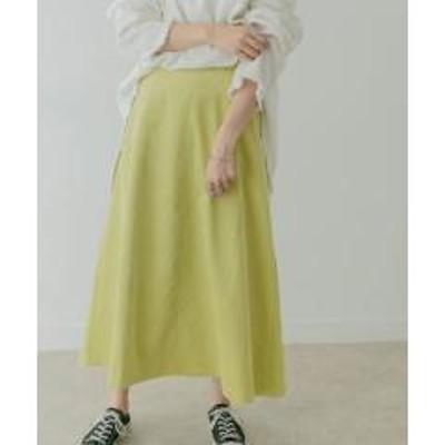 ケービーエフ【GISELe11月号掲載】KBF+ コーデュロイフレアスカート【お取り寄せ商品】