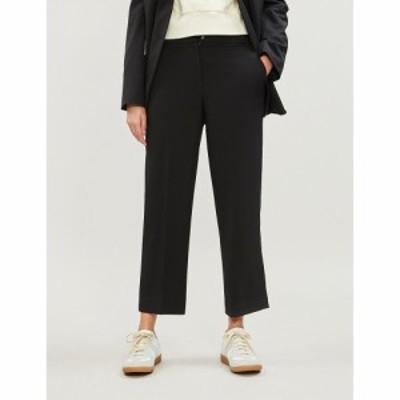 ホイッスルズ WHISTLES レディース クロップド ボトムス・パンツ Kate woven ankle-length trousers Black