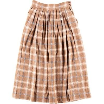 Liz Claiborne ロング プリーツスカート レディースM /wbk6271
