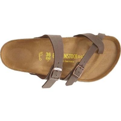 ビルケンシュトック BIRKENSTOCK レディース サンダル・ミュール スライドサンダル シューズ・靴 Mayari Birko-Flor Slide Sandal Mocha