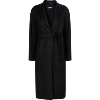 マックスマーラ S Max Mara レディース コート アウター Renata wool coat Black
