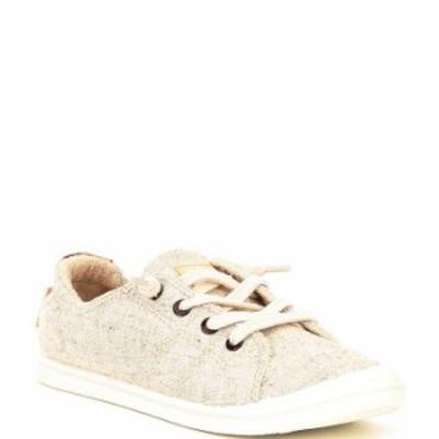 ロキシー レディース スニーカー シューズ Bayshore III Canvas Slip On Sneakers Tan/Gold