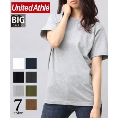 (AMS SELECT/エーエムエスセレクト)【UnitedAthle】7.1オンスUSコットンスーパーヘビーウェイトTシャツ/ビッグT/無地T/XS-XL/ユニセックス グレー