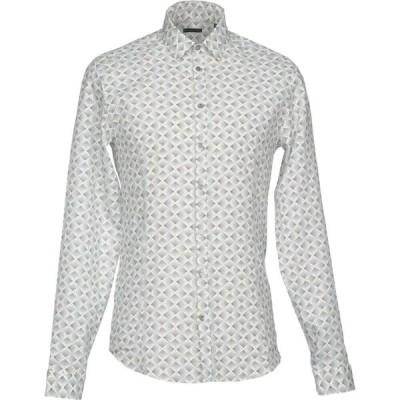 パトリツィア ペペ PATRIZIA PEPE メンズ シャツ トップス linen shirt Black